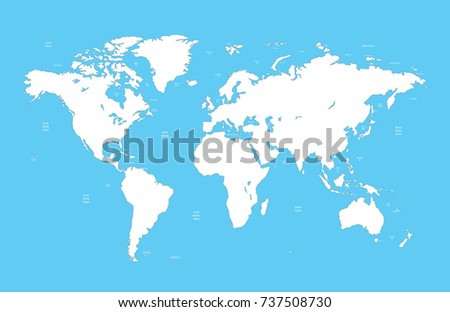 World map illustration stock vector 323201348 shutterstock world map gumiabroncs Images