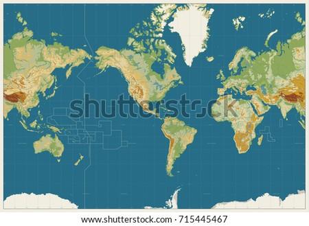 Freess Portfolio On Shutterstock - World map no names