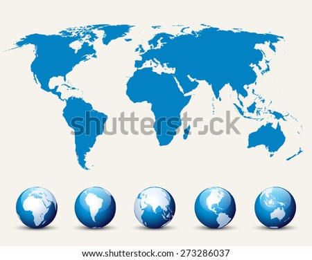 World Map and Globe Collection