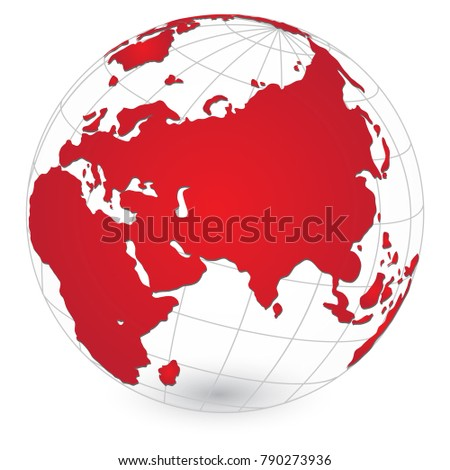 World map globe detail vector illustration stock vector 2018 world map and globe detail vector illustration eps 10 gumiabroncs Gallery