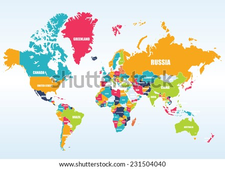 Country stock images royalty free images vectors shutterstock world map countries gumiabroncs Gallery