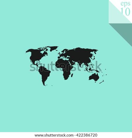 World map Icon. World map Icon Vector. World map Icon Sign. World map Icon Picture. World map Icon Image. World map Icon Illustration. World map Icon JPEG. World map Icon EPS10. World map Icon Logo. - stock vector