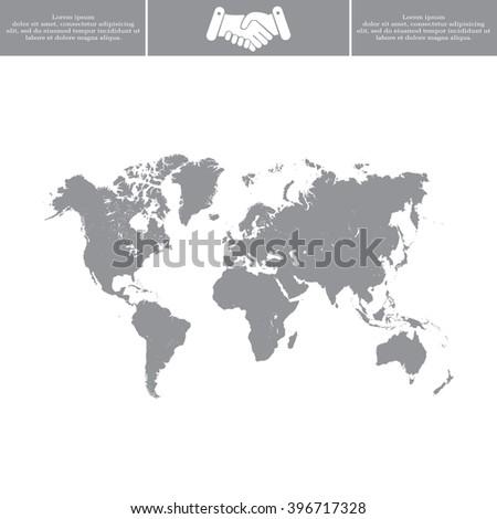 World map illustration stock vector 322266155 shutterstock world map illustration sciox Images