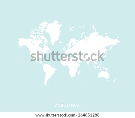 World map in an abstract background, a fade design of world map for web page template or construction - stock vector
