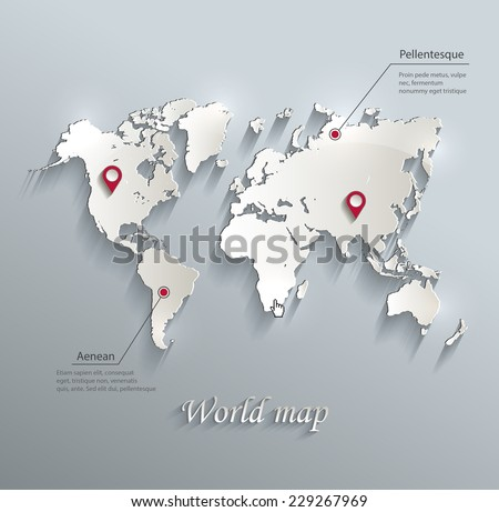 World map infographic europe map europe stock vector 229267969 world map infographic europe map europe europe vector vector map gumiabroncs Images