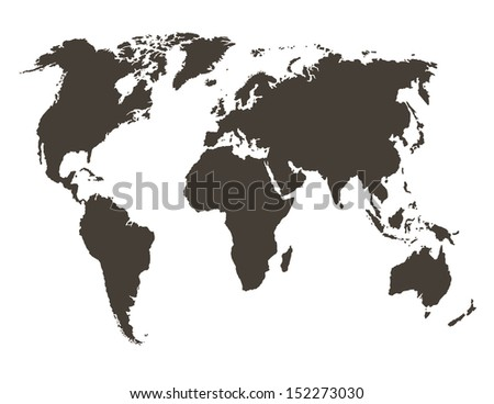 World map map source public domain stock vector 152273030 shutterstock world map map source public domain http gumiabroncs Choice Image