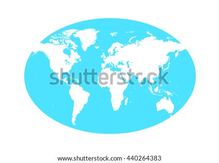 world map planet vector