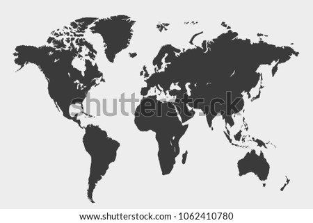 Detailed world map stock images royalty free images vectors world map vector gumiabroncs Gallery