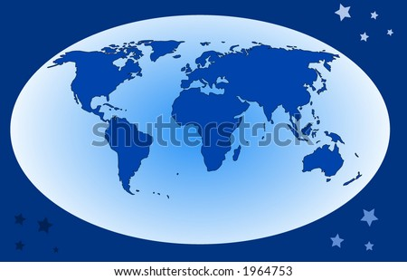 world map (vector)