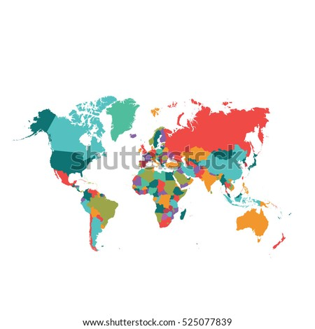 World map vector stock photo photo vector illustration 525077839 world map vector gumiabroncs Choice Image