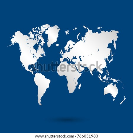 World map vector world map template stock vector 320711546 world map vector gumiabroncs Images