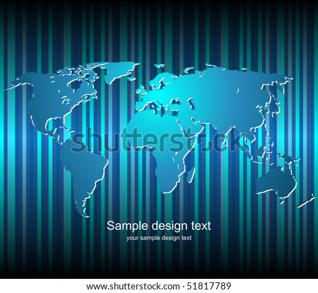 World map vector background color blank vectores en stock 51817789 world map vector background color blank templete gumiabroncs Choice Image