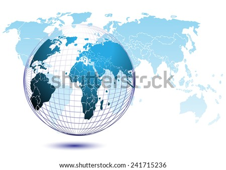World map vector background graphics stock vector 241715236 world map vector background graphics gumiabroncs Images