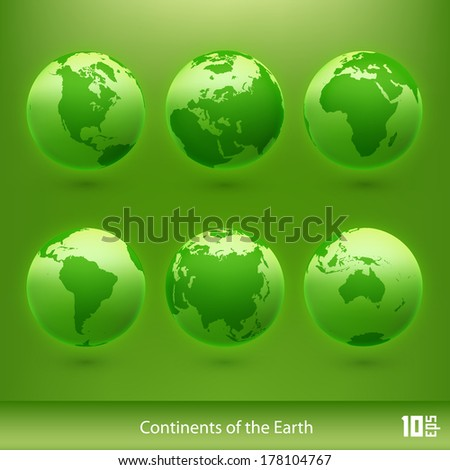 World map vector background. Vector