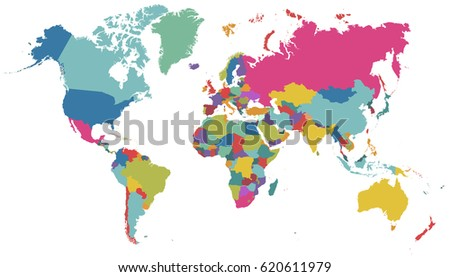 World map vector on white background stock vector 620611979 world map vector on white background gumiabroncs Image collections