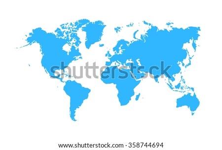 World map vector. World map abstract. World map image. World map picture. World map design. World map illustration. World map vector. World map eps10. World map sign. World map icon. World map symbol - stock vector