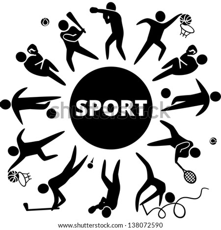 world sports vector illustration sports icons stock photo photo rh shutterstock com sports vector art sports vector images