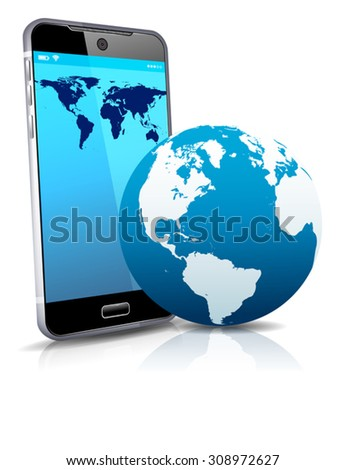 World on your Phone Cell Smart Mobile 3D
