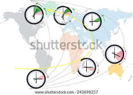 world time change