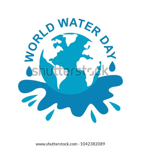 World water day poster greeting card stock vector 1042382089 world water day poster greeting card illustration sticker m4hsunfo