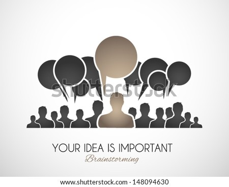 Worldwide communication and social media concept art. People communicating around the globe with a lot of connections. - stock vector