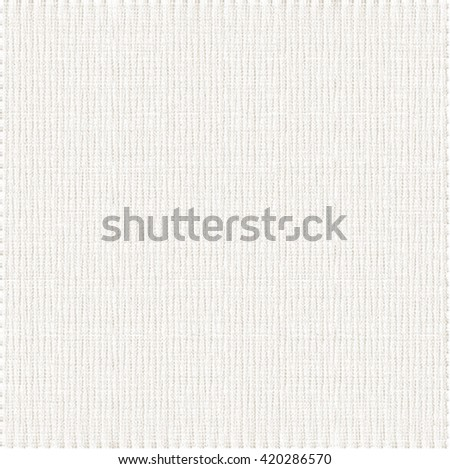 Wrinkled white carpet. Abstract fabric background. Vector design. - stock vector