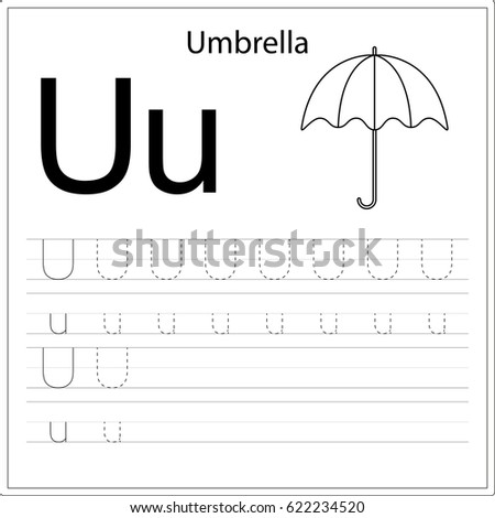 writing the alphabet practice