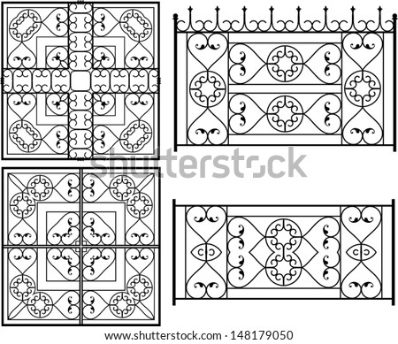 Wrought Iron Window Grill Designs