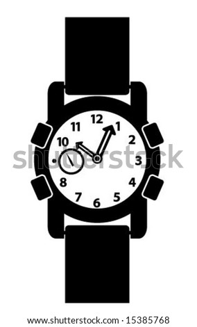 WWII Watch - stock vector