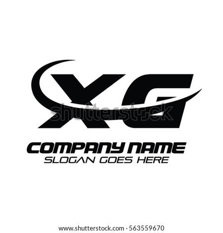 Xg Logo Stock Vector 563559670 Shutterstock