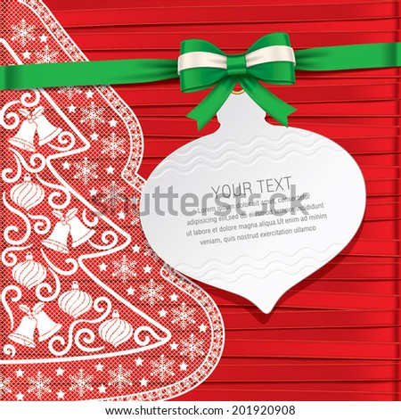 xmas card,gift card,beautiful cards - stock vector