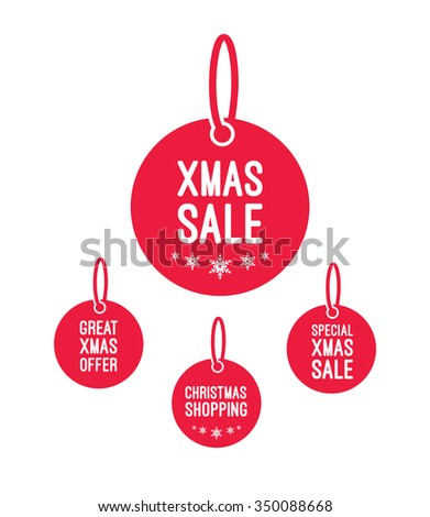 Xmas Offer & Sale Labels