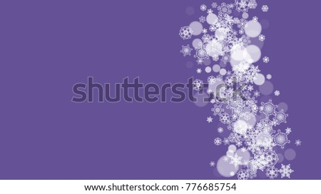 party flyer new year border