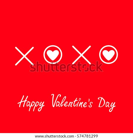 Xoxo Hugs Kisses Sign Symbol Mark Stock Vector 574781299 Shutterstock