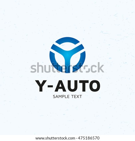 Y auto car wheel logo design stock vector royalty free 475186570 y auto car wheel logo design template vector letter y blue circle logotype icon spiritdancerdesigns Gallery