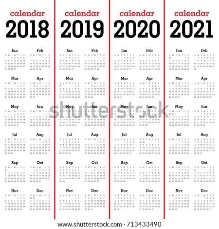 year 2018 calendar printable
