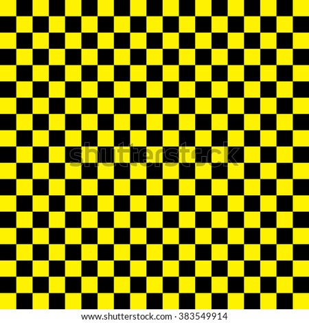 Yellow and black checkered background