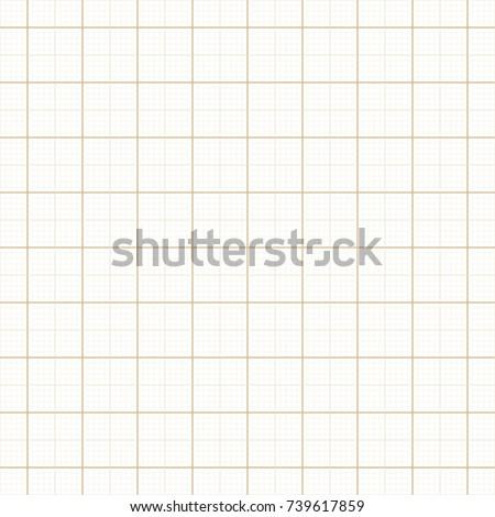 yellow architect graph paper repeat vectorのベクター画像素材