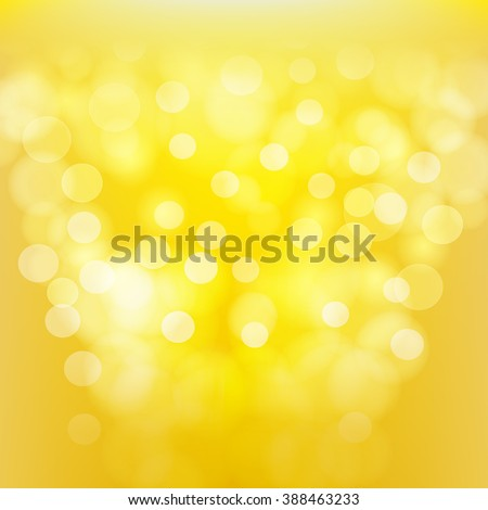 yellow blurred abstract background. vector