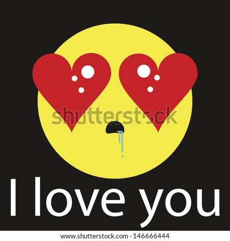 Pictures of In Love Emoticon Text - #rock-cafe