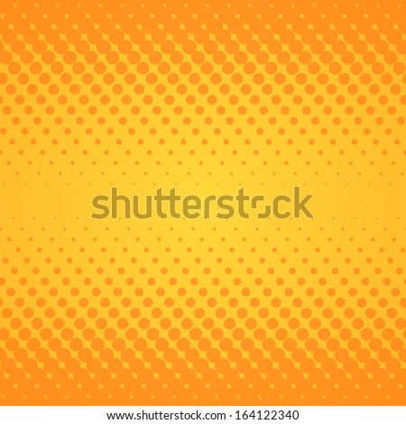 Yellow Gradient Texture - stock vector