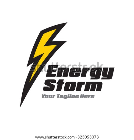 Yellow lightning Logo