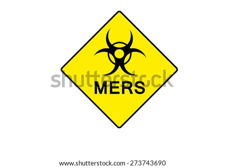 yellow symbol for BIO HAZARD with possible text - stock vector