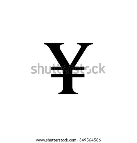 Yen Sign Icon Jpy Currency Symbol Stock Photo Photo Vector