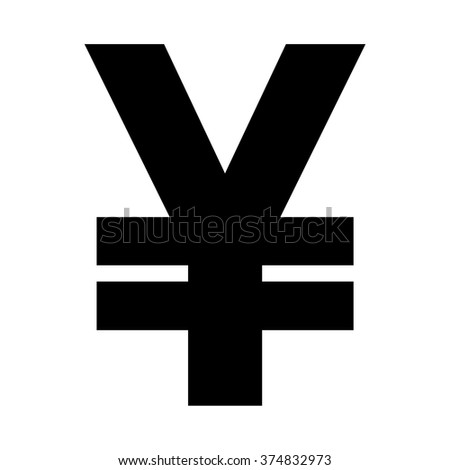 Yen Sign Icon Jpy Currency Symbol Stock Vector Hd Royalty Free