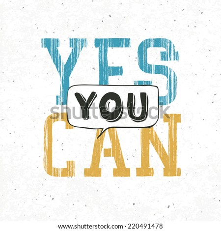 Yes you can typography background. With textured background, vector - stock vector