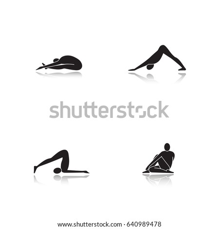 paschimottanasana stock images royaltyfree images