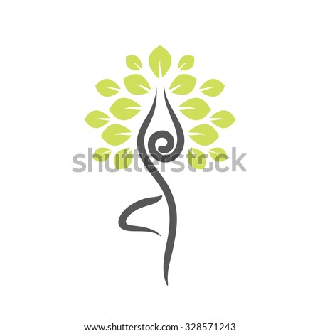yoga tree stock images royaltyfree images  vectors