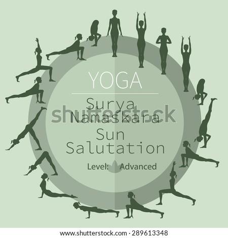 stunning advanced surya namaskar  yoga for all