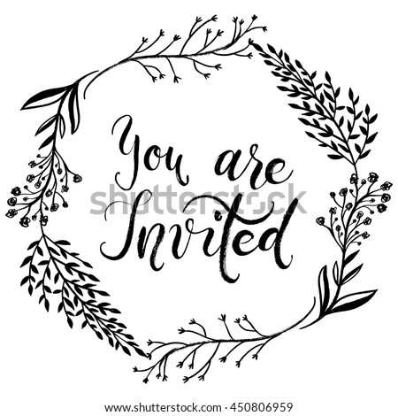 words for invitation for a party